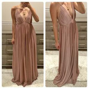 Tobi Mauve Maxi dress